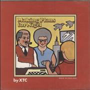 Click here for more info about 'XTC - Making Plans For Nigel + Fold Out Sleeve - EX'