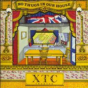 """XTC No Thugs In Our House - Theatre Pack UK 7"""" vinyl"""