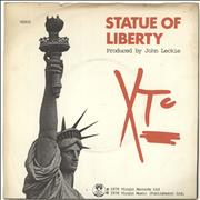 Click here for more info about 'XTC - Statue Of Liberty - A Label - P/S'