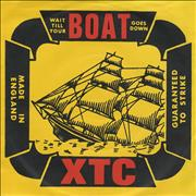 Click here for more info about 'XTC - Wait Till Your Boat Goes Down'