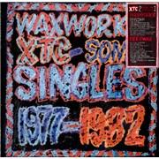 XTC Waxworks & Beeswax UK 2-LP vinyl set