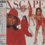 Xscape Traces Of My Lipstick Japan CD album Promo