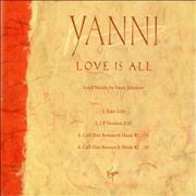 Click here for more info about 'Yanni - Love Is All'