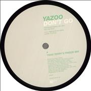 Click here for more info about 'Yazoo - Don't Go - Todd Terry'