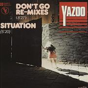 Click here for more info about 'Yazoo - Don't Go Remix'