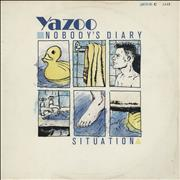 Click here for more info about 'Yazoo - Nobody's Diary - Numbered'