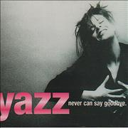 Click here for more info about 'Yazz - Never Can Say Goodbye'