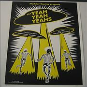 Click here for more info about 'Yeah Yeah Yeahs - Australian Tour Poster'