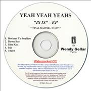 Click here for more info about 'Yeah Yeah Yeahs - Is Is EP'