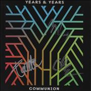 Click here for more info about 'Years & Years - Communion - Autographed'