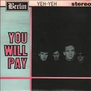 Click here for more info about 'Yeh-Yeh - You Will Pay'