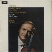 Click here for more info about 'Yehudi Menuhin - Bartók: Violin Concerto No. 1 & Viola Concerto - 1st'