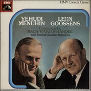 Click here for more info about 'Yehudi Menuhin - Concertos By Bach, Vivaldi & Handel'