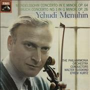 Click here for more info about 'Yehudi Menuhin - Mendelssohn: Concerto in E Minor, Op.64 / Bruch: Concerto No.1 in G Minor, Op.26'