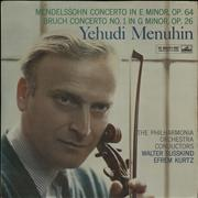 Click here for more info about 'Yehudi Menuhin - Mendelssohn: Concerto in E Minor, Op. 64 / Bruch: Concerto No.1 in G Minor, Op. 26'