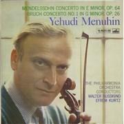 Click here for more info about 'Yehudi Menuhin - Mendelssohn Violin Concerto / Bruch Violin Concerto No.1'
