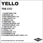 Click here for more info about 'Yello - The Eye'