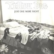 Click here for more info about 'Yellow Dog - Just One More Night - P/S'