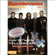 Click here for more info about 'Yellowcard - Light Up The Sky'