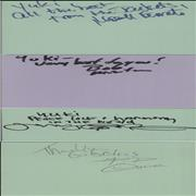 Click here for more info about 'Yellowjackets - Pages From An Autograph Book'