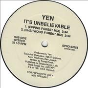 Click here for more info about 'Yen - It's Unbelievable'