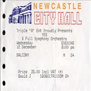 Click here for more info about 'Newcastle City Hall 2001'