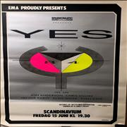 Click here for more info about 'Yes - Swedish Gig Poster 1984'