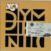 Click here for more info about 'Symphonic Tour 2001 + Ticket Stub & Flyer'