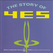 Yes The Story Of Yes Japan CD album Promo