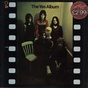 Click here for more info about 'Yes - The Yes Album - stickered p/s'