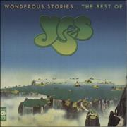 Yes Wonderous Stories: The Best Of Yes UK 2-CD album set