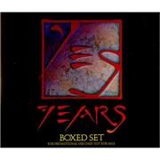 Yes Yesyears USA 4-CD set Promo