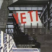 Click here for more info about 'Yeti - Never Lose Your Sense Of Wonder/ Working For The Industry'