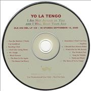 Click here for more info about 'Yo La Tengo - I Am Not Afraid Of You And I Will Beat Your Ass'