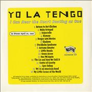 Click here for more info about 'Yo La Tengo - I Can Hear The Heart Beating As One'