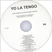 Click here for more info about 'Yo La Tengo - I'm Not Afraid Of You And I Will Beat Your Ass'