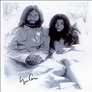 Click here for more info about 'Yoko Ono - Autographed 'Bed-In' Photograph'