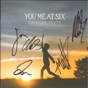 Click here for more info about 'You Me At Six - Cavalier Youth - Autographed'