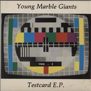 Click here for more info about 'Young Marble Giants - Testcard EP'