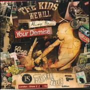 Click here for more info about 'Your Demise - Cold Chillin' - Green Splatter Vinyl'