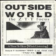 Click here for more info about 'ZTT label - Outside World Issue 1 - The ZTT Focus'