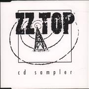 Click here for more info about 'ZZ Top - C.D. Sampler'