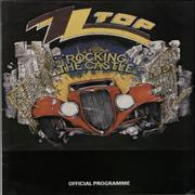 Click here for more info about 'ZZ Top - Rocking The Castle + Ticket Stub'