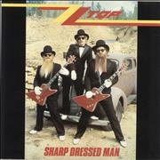 Click here for more info about 'ZZ Top - Sharp Dressed Man - Silver Inj'