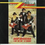 Click here for more info about 'ZZ Top - Sharp Dressed Man'