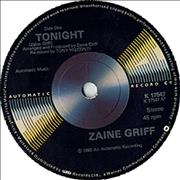 Click here for more info about 'Zaine Griff - Tonight'