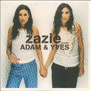 Click here for more info about 'Zazie - Adam & Yves - Sealed'