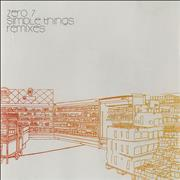 Click here for more info about 'Zero 7 - Simple Things - Remixes'