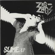 Click here for more info about 'Zig Zags - Slime EP - Green Vinyl'