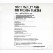 Click here for more info about 'Ziggy Marley - Free Like We Want 2 B'